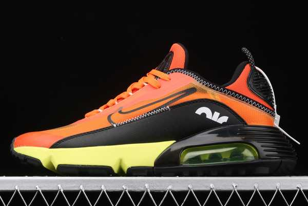 CQ7630-004 Nike Air Max 2090 Black/Orange-Volt 2020 For Sale