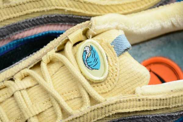 2018 Sean Wotherspoon x Nike Air Max 1/97 Light Blue Fury/Lemon Wash AJ4219-400
