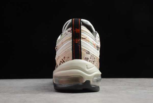 921826-108 Mens and WMNS Nike Air Max 97 Newspaper For Sale